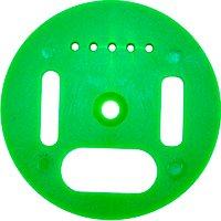 Fluglochrosette grün