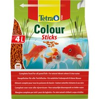 Teichfischfutter »Pond Colour «, Sticks, 4000 ml (750 g)