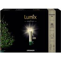 Christbaumkerzen Lumix Superlight mini, Cashmere, 6er