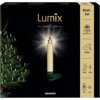 Christbaumkerzen Lumix Superlight, Elfenbein, 10er