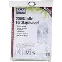Stapelsessel-Schutzhülle »Classic«, BxHxT: 65 x 150 x 65 cm, Kunststoff