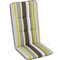Sesselauflage »Basic Line«, grün/grau/weiss/schwarz, BxL: 50 x 120 cm