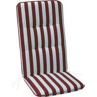 Sesselauflage »Basic Line«, rot, BxL: 50 x 120 cm