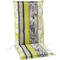 Sesselauflage »Swing-Line«, lime/beige/weiss/grau, BxL: 50 x 120 cm