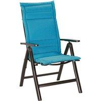 Sesselauflage »Soft-Line«, blau, BxL: 50 x 120 cm
