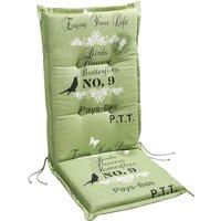 Sesselauflage »Selection-Line«, grün, BxL: 50 x 120 cm