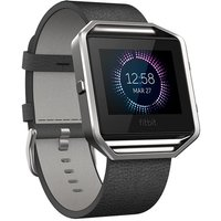 FITBIT BLAZE ACCESSORY BAND LEATHER BLACK L