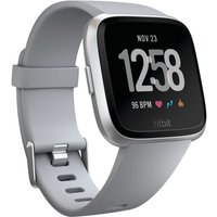 Fitbit Versa Watch - One Size Grey / Silver | Watches (FB505SRGY-EU)