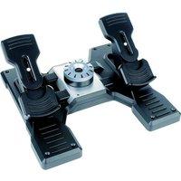 Pedalset G Saitek Flight Rudder Pedals, Logitech (945-000005)