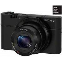 Sony Dsc-Rx100 - Kompaktkamera (Fotoauflösung: 20 MP) Schwarz (DSCRX100.CEE8)