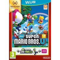 Wii U - New Super Mario Bros. + Luigi Selects Box