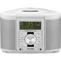 Pure Chronos CD II - Blanc Radio réveil
