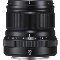 FUJIFILM FUJINON XF 50mm F2 R WR Objektiv (Schwarz) (62309405)