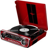 ION Mustang LP red - Platine (Rouge)