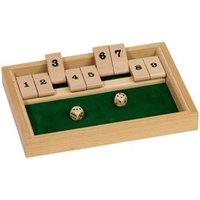 Jeu de dés en bois : Ferme la boîte