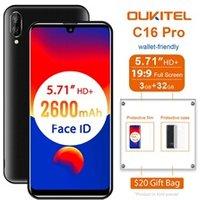 C16 pro 32go quad core mtk6761 4g smartphone dual sim - noir