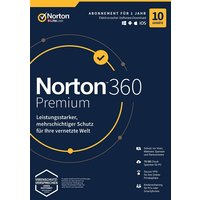 NortonLifeLock Norton 360 Premium (10 Geräte / 1 Jahr)