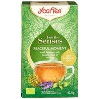 Yogi Tea Para Los Sentidos Instantáneos De Silencio 20 Bolsitas