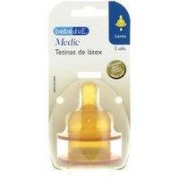 Bebedue Medic Tetina Látex Flujo Lento