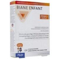 Pileje Biane Niño Omga 3, Vit D y E 27 comprimidos