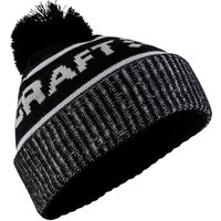 Bekleidung/Accessoires: Craft CRAFT Core Retro Logo Knit Hat