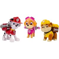 Paw Patrol - Action Pack mit Hundewelpen Marshall, Rubble und Skye