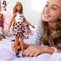 Barbie - Fashionistas Puppe: Polka Dot Rock
