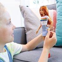 Barbie - Fashionistas Puppe: Regenbogen Shirt