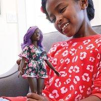 Barbie - Fashionistas Puppe: im Blumenoutfit