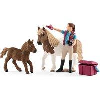 Schleich - 42362 Pferdepflegerin mit Shettys