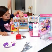 Barbie - 2-in-1 Spielset Krankenwagen (FRM19)