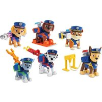 Paw Patrol - Polizeifiguren,  6er-Pack