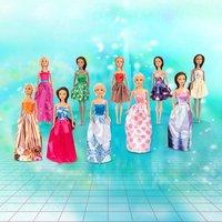 Fashion Dolls Modepuppen 10er Pack
