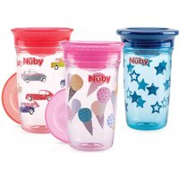 Nuby - 360° Wonder Cup sortiert, 300 ml