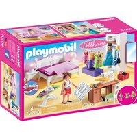 PLAYMOBIL - 70208 Schlafzimmer mit Nähecke
