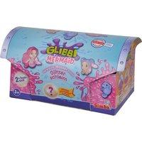 Glibbi Mermaid Glitzerschleim, pink