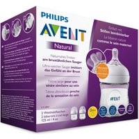 PHILIPS AVENT - Natural Flasche 2.0, 125ml 2er Pack