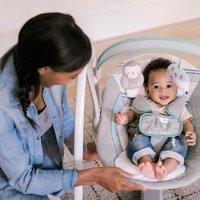 Ingenuity  Power Adapt tragbare Babyschaukel, Abernathy