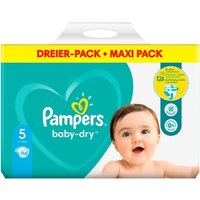 Pampers - Windeln Mega Pack Baby Dry Junior, Gr. 5 (90 Stück)