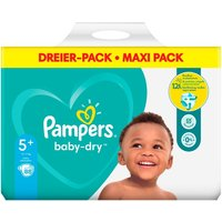 Pampers - Windeln Mega Pack Baby Dry Junior, Gr. 5+ (84 Stück)