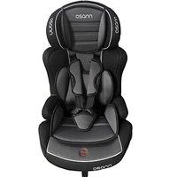 Osann - Kindersitz Autositz Lupo Isofix, grau, 9 Monate bis 12 Jahre, 9-36Kg,