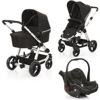ABC Design - Travelsystem Condor 4 All in One, Black/Woven Grey