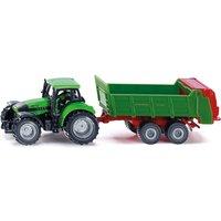 SIKU Super - 1673: Traktor mit Universalstreuer