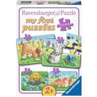 Ravensburger - My First Puzzles: Niedliche Haustiere