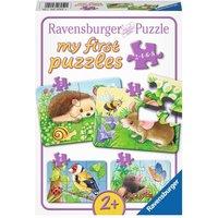 Ravensburger - My First Puzzles: Süße Gartenbewohner
