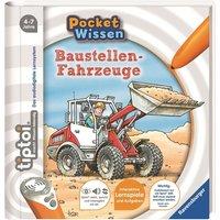 Ravensburger - tiptoi Buch: Pocket Wissen, Baustellen-Fahrzeuge