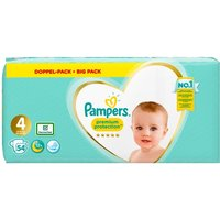 Pampers - Windeln Maxi Jumbo Pack Premium Protection, Gr. 4 (54 Stück)