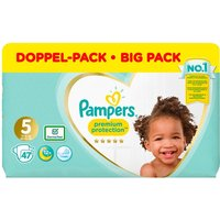 Pampers - Windeln Jumbo Pack Premium Protection, Gr. 5 (47 Stück)
