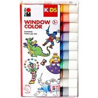 Marabu Kids - Window-Color-Set, 10x25 ml