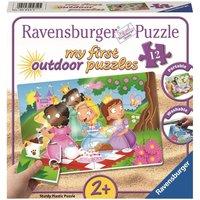 Ravensburger - My First Outdoor Puzzles: Süße Prinzessinnen, 12 Teile